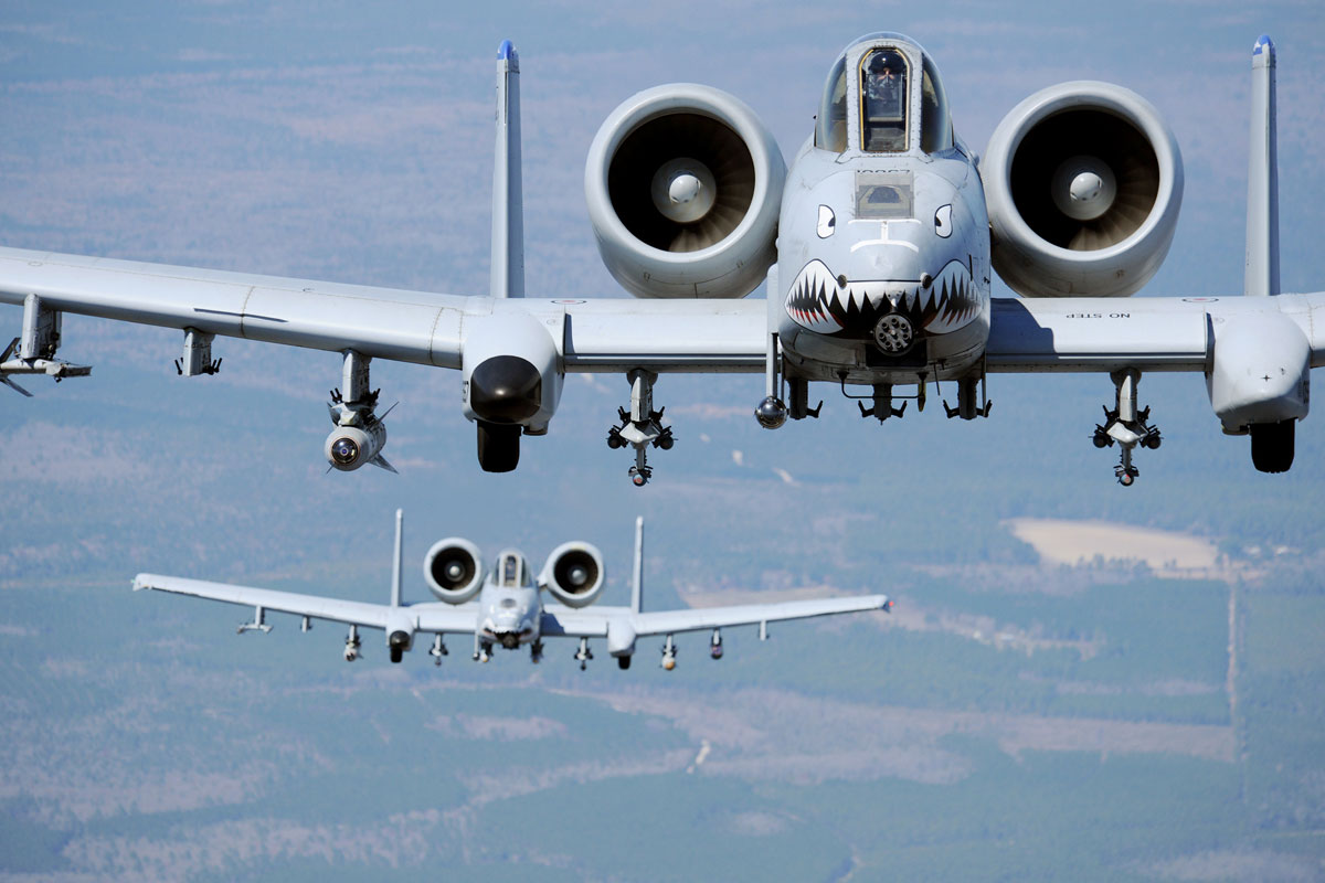 A-10 Thunderbolt Kernersville Sim Center